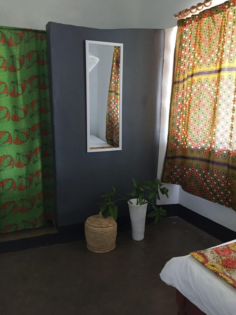 A lake facing room with one double and